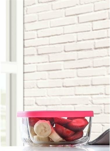 Lav Saklama Kabı Cam Kahvaltılık 8 Li - Saklama Seti 270 Cc Renkli